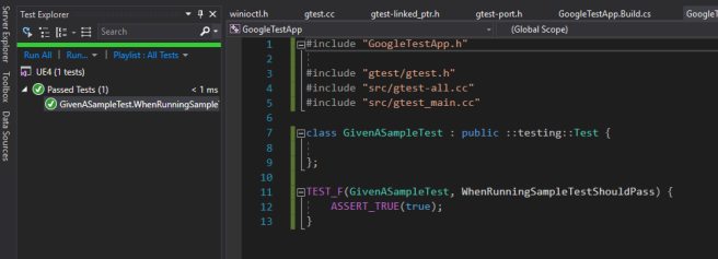 Unit Tests in Unreal – pt 2 – Integrating Google Test with